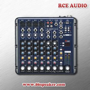 8 Channel Mini USB Audio Mixer, PRO Audio Mixing Console