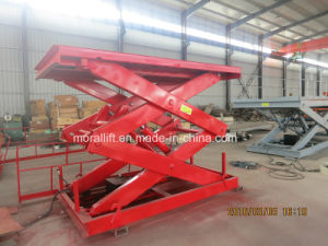 Portable Hydraulic Scissor Cargo Lift pictures & photos