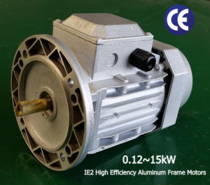 Ie2 Aluminum Frame 0.12-15kw Electrical Motor pictures & photos