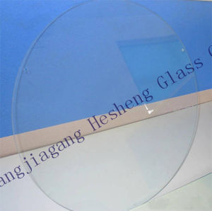 10mm Round Plain Tempered Glass for Round Table Top pictures & photos