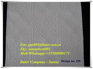 The Lowest Price for Quality New PVC Laminated Gypsum Board/False Ceiling From Baiercompany pictures & photos