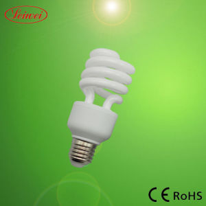 13-15W Half Spiral Energy Saving Lamp, Light (10mm) pictures & photos