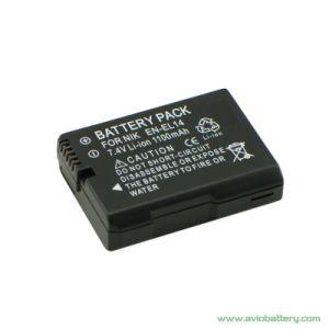 Camera Battery En-EL14 for Nikon D3300 D5500 P7800