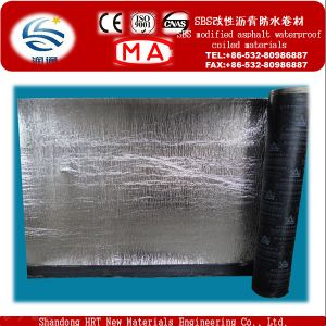 2/3/4mm Double-Sides/One Sides HDPE Self-Adhesive Waterproof Membrane