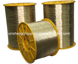 Brass Plated Tyre Steel Cord, Steel Tire Cord (2*0.35nt/Ht), Steel Wire pictures & photos