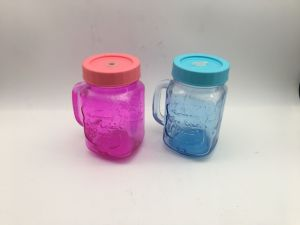 Color Juice Glass Mug with Color High Quality Tumbler Kb-Hn06717 pictures & photos
