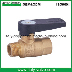 Guarantee Quality Brass Ball Valve with Corrugate Handle (AV-BV-2033) pictures & photos