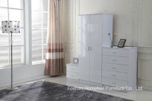 Ottawa 3PCS High Gloss Bedroom Wardrobe Closet Set pictures & photos