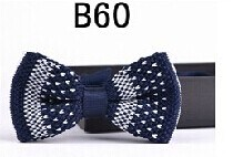New Design Fashion Men′s Knitted Bowtie (B60) pictures & photos