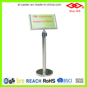 Queue Stand Sign Frame (WL08-32B51B) pictures & photos