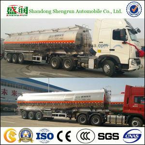 3axle Llight Duty Aluminium Alloy Oil Tanker Fuel/Petrol/Gasoline Tank Trailer