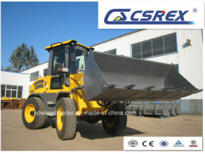 CE Articulated 1.7 Ton Building Wheel Loader pictures & photos