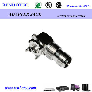 Right Angle TNC Jack Connector for PCB Board pictures & photos