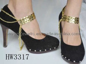 2012 Gold Metal Chain for Lady High Heel (HW3317)
