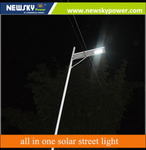 40W Integrated All in One Solar Street Light with Motion Sensor pictures & photos