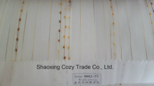New Popular Project Stripe Organza Voile Sheer Curtain Fabric 008277 pictures & photos