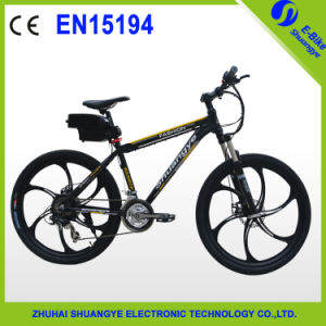 "High Reputation 26"" Aluminum Alloy Mountain Electric Bike pictures & photos"