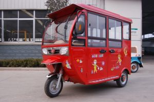 Passenger Electric Tricycle/Electric Vehicle pictures & photos