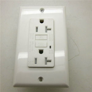 Manufacture White Ground Fault Receptacle pictures & photos