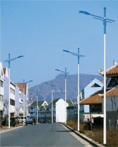 LED Light Single Arm Street Lighting Pole/Double Brackets Street Lighting with Lamps pictures & photos