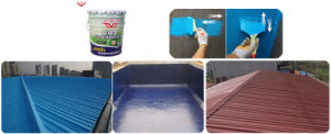 Waterbased/Solvent Free PU Waterproofing Coating for Roof pictures & photos
