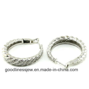 Hot Sale Silver Clip on Earrings for 925 Silver Jewelry E2259 pictures & photos