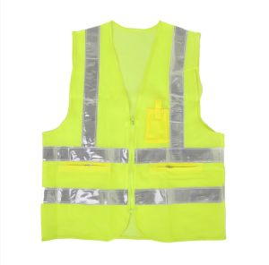 Screen Reflective Vest with Reflector Tape (TR-BX-004)