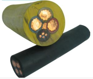 Electric Trailing Rubber Cables for Use in Mines pictures & photos