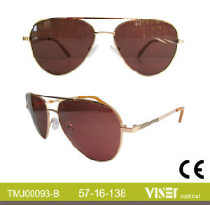 Fashion Metal Sunglasses Sunwear (93-C) pictures & photos