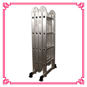 Aluminum Multi-Purpose Ladder /Workshelf and Scaffold Platform pictures & photos