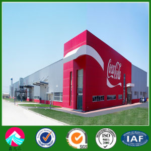 Prefabricated Steel Structure Building for Coca Cola Plant pictures & photos