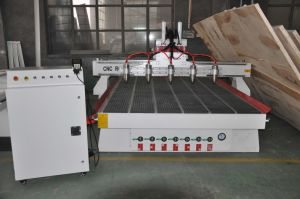 Woodworking CNC Router Machine with 5 Spindles