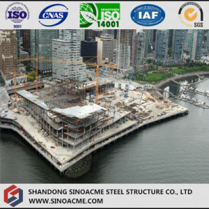 Modern Design Steel Structure Five Star Hotel Building pictures & photos