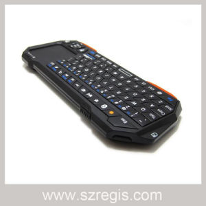 Qwerty Wireless Bluetooth Full Keyboard with Touch Air Mouse pictures & photos