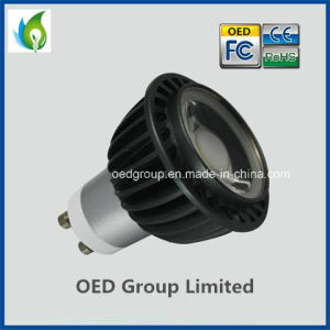 UL GU10 8W COB LED Spot Light with Black Lamp Housing pictures & photos