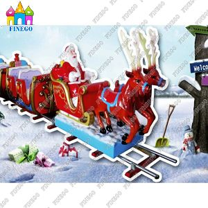 Hot Sale Modern Design Kids Trackless Electric Tour Train pictures & photos
