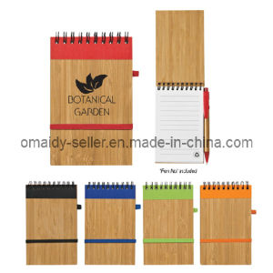 Bamboo Notebook with Pen (OMD13089)