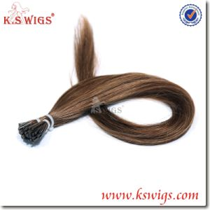 Brazilian Virgin Remy I-Tip Keratin Human Hair Extensions pictures & photos