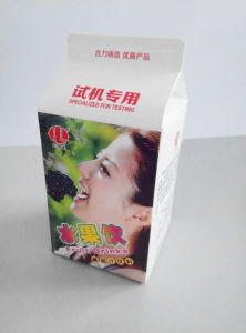 Aseptic Juice Gable Top Paper Cartons pictures & photos