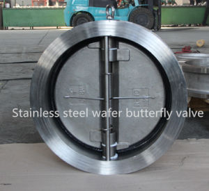 Stainless Steel Dual Plate Check Valve pictures & photos
