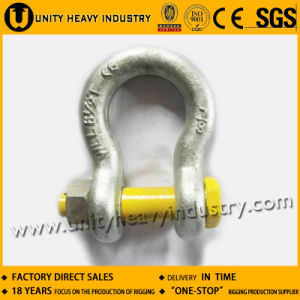 G 2130 U. S Type Bolt Safety Drop Forged Anchor Shackle pictures & photos
