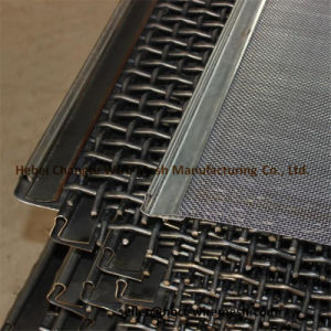 High Carbon Steel Square Wire Netting Crimped Wire Mesh pictures & photos
