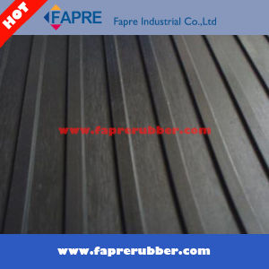 Antislip Broad Ribbed Rubber Flooring pictures & photos