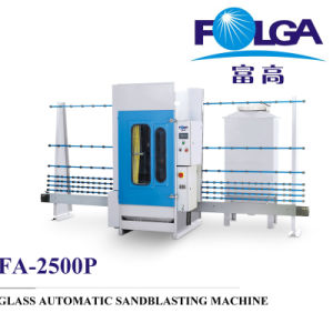 New Design Glass Sandblasting Machine (FA-2500P) pictures & photos