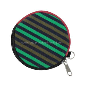Round Shape Soft Simple Coin Pouch pictures & photos