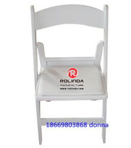 Restaurant White Resin Folding Chair pictures & photos