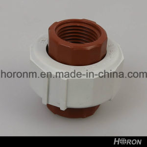 """Pph Water Pipe Fitting-Thread Reducer-Elbow-Tee-End Cap-Union (1""""X1/2"""") pictures & photos"""