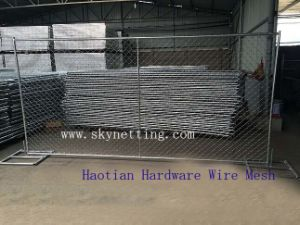 ASTM A392-06 Standard Zin Coated PVC or Galvanzied Chain Link Fence pictures & photos
