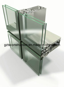 Aluminium Curtain Wall and Glass Wall with High Quality pictures & photos