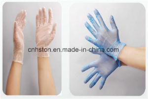 Disposable Vinyl Gloves Powder/Powder-Free pictures & photos